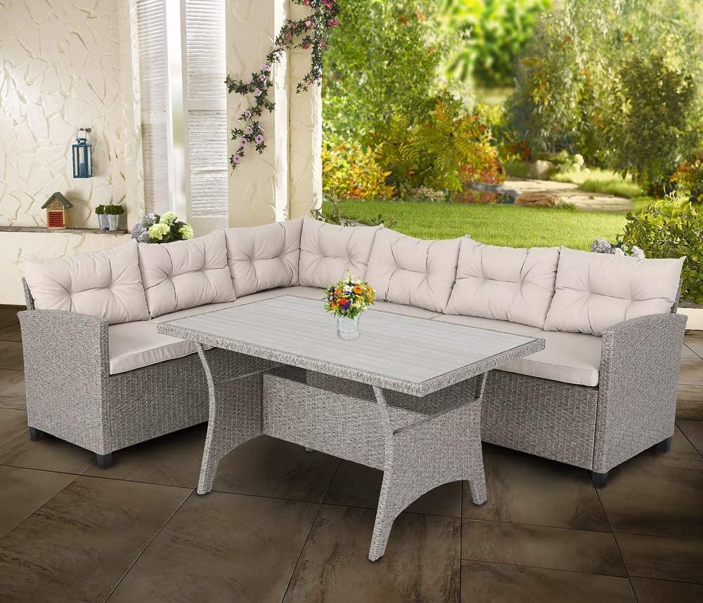 conjunto muebles de jardin